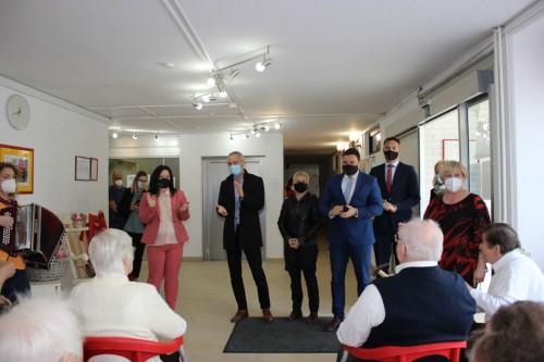 Obisk ministra Janeza Ciglerja Kralja
